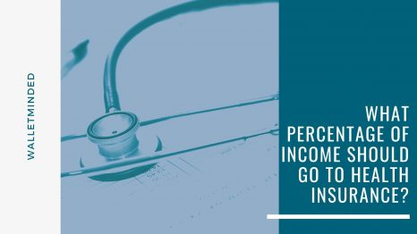 What Percentage of Income Should Go to Health Insurance?